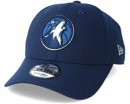 Minnestoa Timberwolves The League Navy Adjustable - New Era