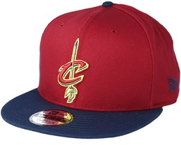 Cleveland Cavaliers NBA Red 9fifty Snapback - New Era