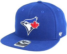 Toronto Blue Jays Sure Shot Captain Royal Snapback - 47 Brand