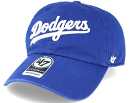 Los Angeles Dodgers Script Clean Up Royal Blue Adjustable - 47 Brand