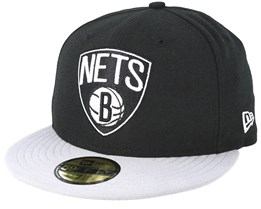 Brooklyn Nets Basic Black Fitted - New Era