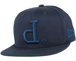 Un Polo Navy Snapback - Diamond
