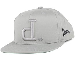 Un Polo Heather Grey Snapback - Diamond