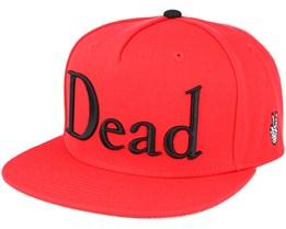 Dead Red Snapback - Neff