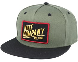 Station 2 Green/Black Snapback - Neff