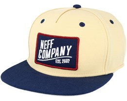 Station Tan/Navy Snapback - Neff