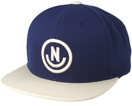 Daily Smile Navy /Twill Snapback - Neff