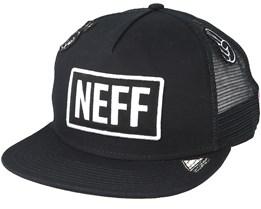 Atoms Trucker Black Snapback - Neff