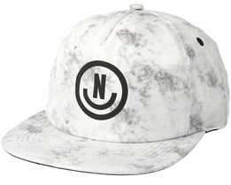 Wavy Decon White Snapback - Neff