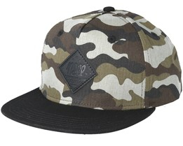 All Day Youth Camo/Black Snapback - Neff