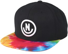Daily Smile Pattern Black/Tie Snapback - Neff