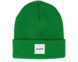 Box Logo Emerald Beanie - Huf