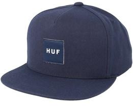 Box Logo Midnight Snapback - Huf