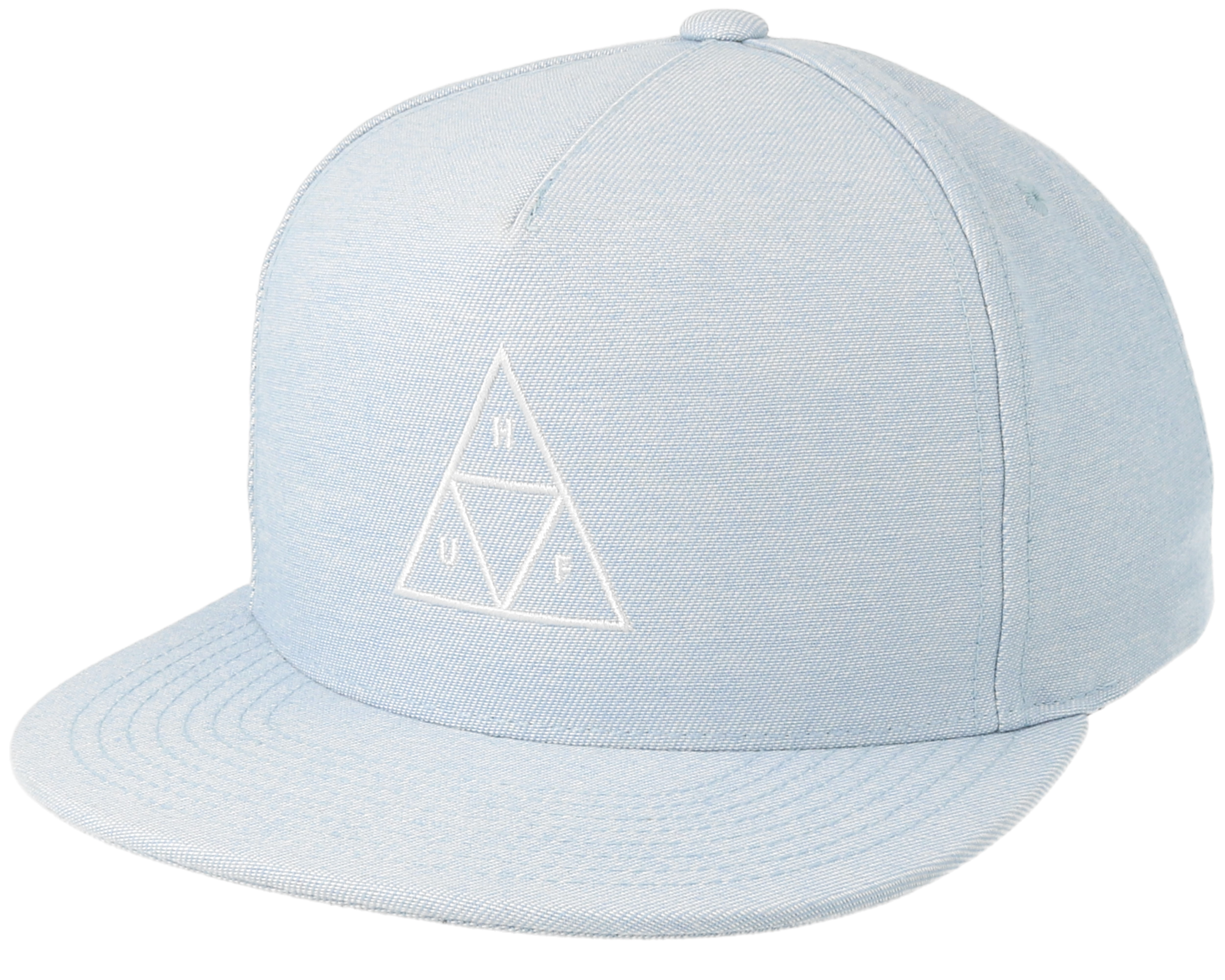 ... h strapback cap black gold 6cdbe 4a9d7 purchase triple triangle blue  snapback huf caps hatstore cc293 91f63 ... 4b090f1514a7
