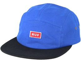 Bar Logo Volley Slate Blue 5 Panel - Huf