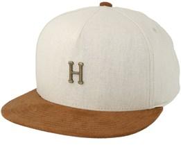Metal H Off White Strapback - Huf