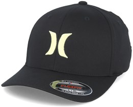 One & Only Black/Yellow Flexfit - Hurley