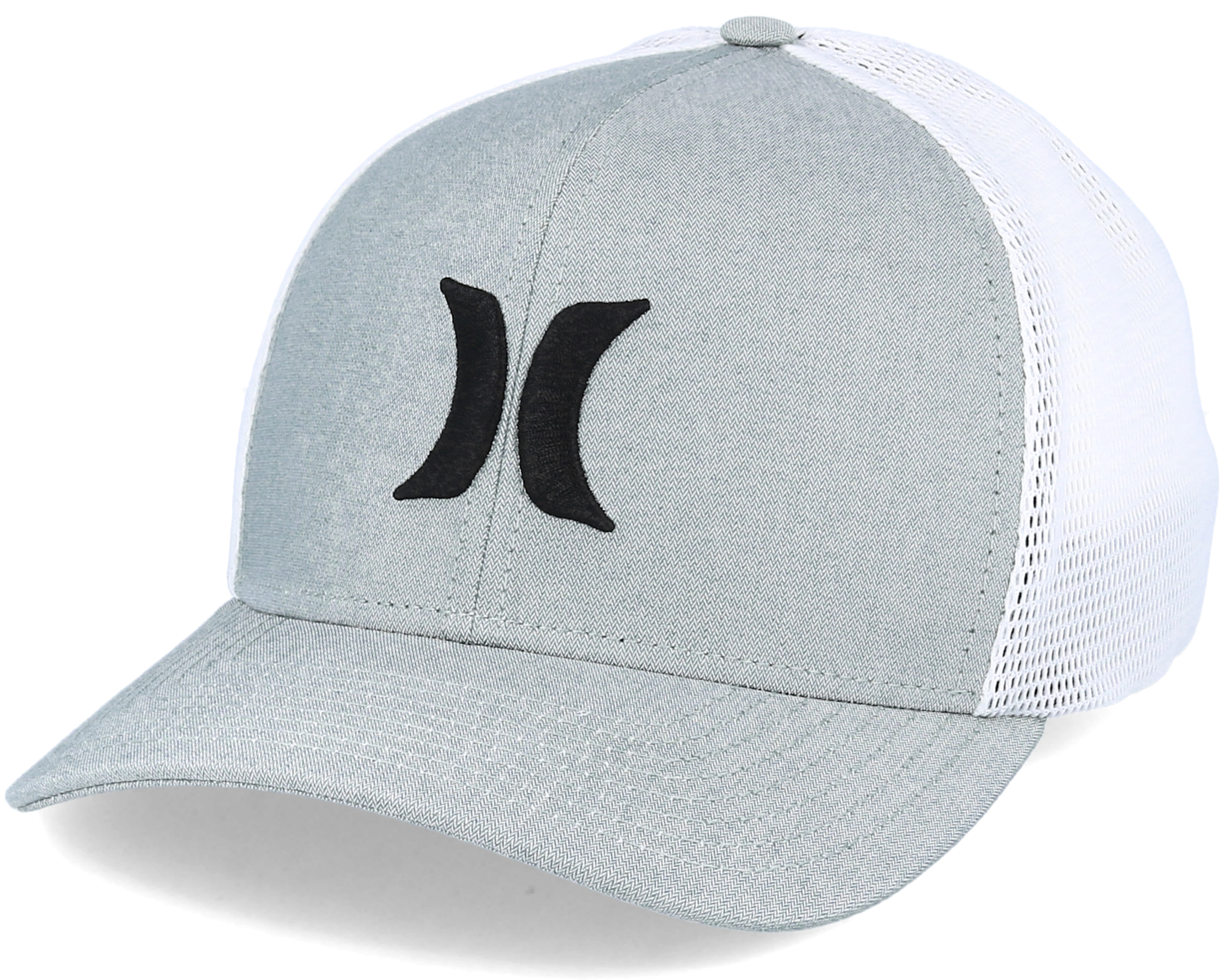 cheap for discount a7998 747a0 ... coupon for one textures grey flexfit hurley caps hatstore c2b2d 275ad