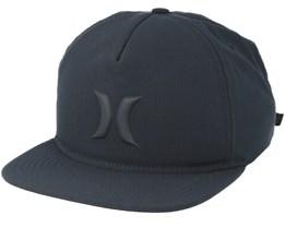Icon Hybrid Black Snapback - Hurley