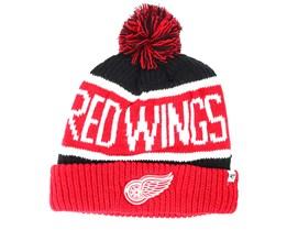 Detroit Red Wings  Breakaway Knit Black Pom - 47 Brand