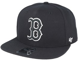 Boston Red Sox Sure Shot Black Snapback - 47 Brand