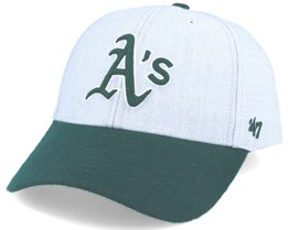 Atlanta Braves Munson Mvp Grey/dark Green Adjustable - 47 Brand