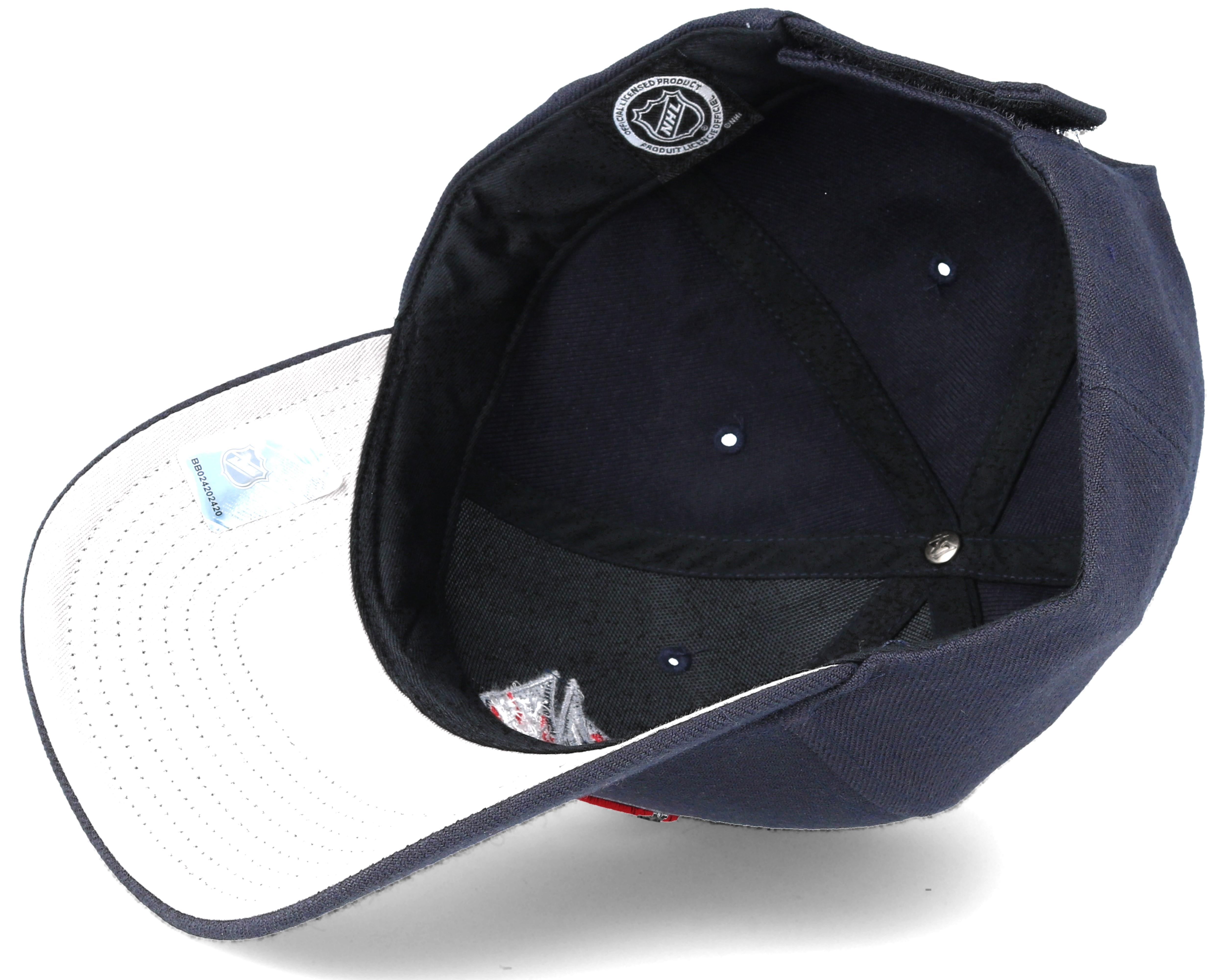 Columbus Blue Jackets Mvp Navy Adjustable - 47 Brand Cap ...