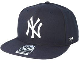 New York Yankees No Shot 47 Captain Navy Snapback - 47 Brand