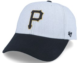 Pittsburgh Pirates Munson Mvp Grey/black Adjustable - 47 Brand