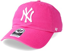 New York Yankees Clean Up Magenta Adjustable - 47 Brand