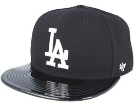 Los Angeles Dodgers Shinedown Black Snapback - 47 Brand