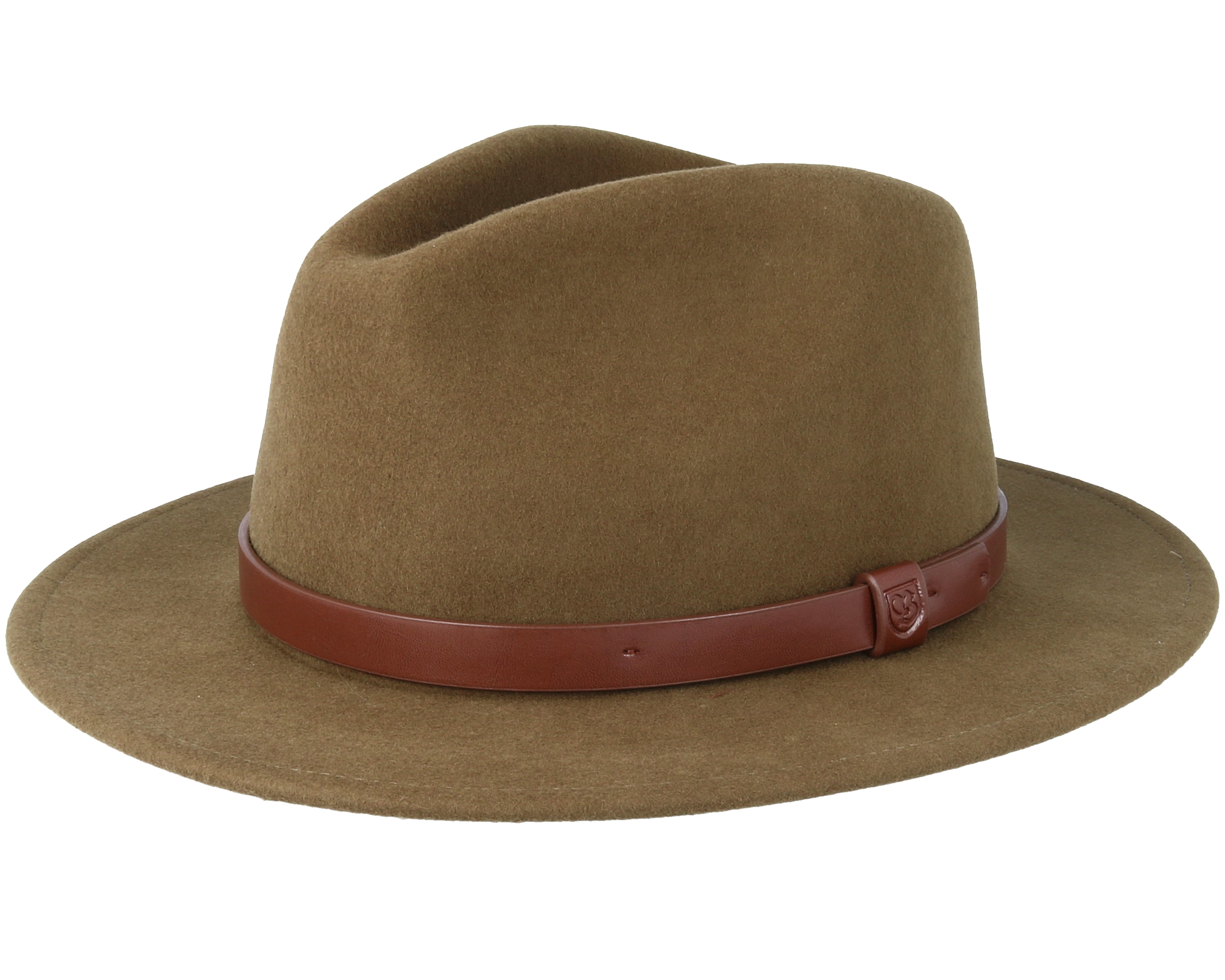 859966a661ee Messer Light Olive Fedora Brixton Hats Hatstorecouk
