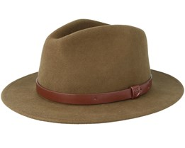 Messer Light Olive Fedora - Brixton