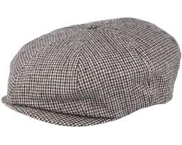 Brood Snap Black/Tan Flatcap - Brixton