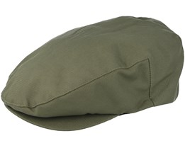 Hooligan Snap Army Green Flatcap - Brixton