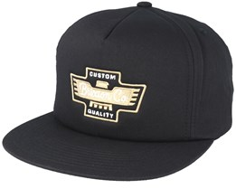 Federal Black Snapback - Brixton