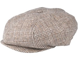 Brood Sand/Tan Flat Cap - Brixton