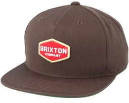 Obtuse Brown Snapback - Brixton