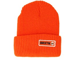 Baldwin Orange Beanie - Brixton