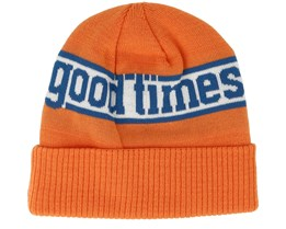 Times Orange Beanie - Brixton