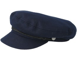 Fiddler Navy/Black Flatcap - Brixton