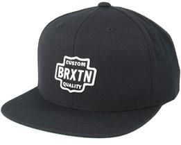 Garth Black Snapback - Brixton
