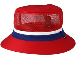Hardy Red/Navy Bucket - Brixton