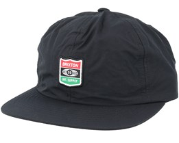 United Black Snapback - Brixton