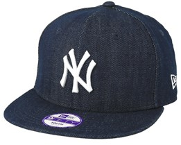 New York Yankees Denim Basic 9Fifty Blue Snapback - New Era