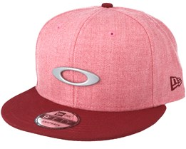 O-Justable Metal Red Snapback - Oakley