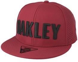 Ember Red Snapback - Oakley