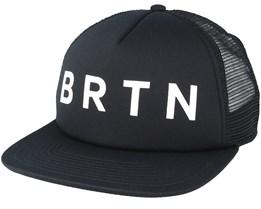 True Black Trucker Snapback - Burton
