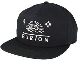 Sunrise True Black Snapback - Burton