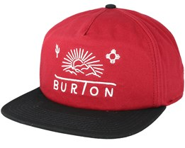 Sunrise Fired Brick Snapback - Burton